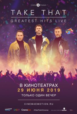 Take That: Greatest Hits Live (2019)